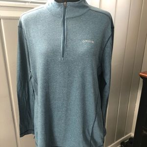 ORVIS Classic Collection Pullover 1/4 Zip L/S Med.